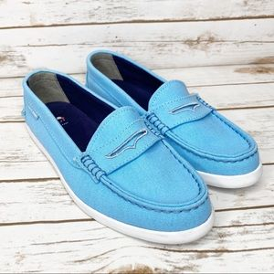 Cole Haan Baby Blue Pinch Weekend Loafer Size 8.5B